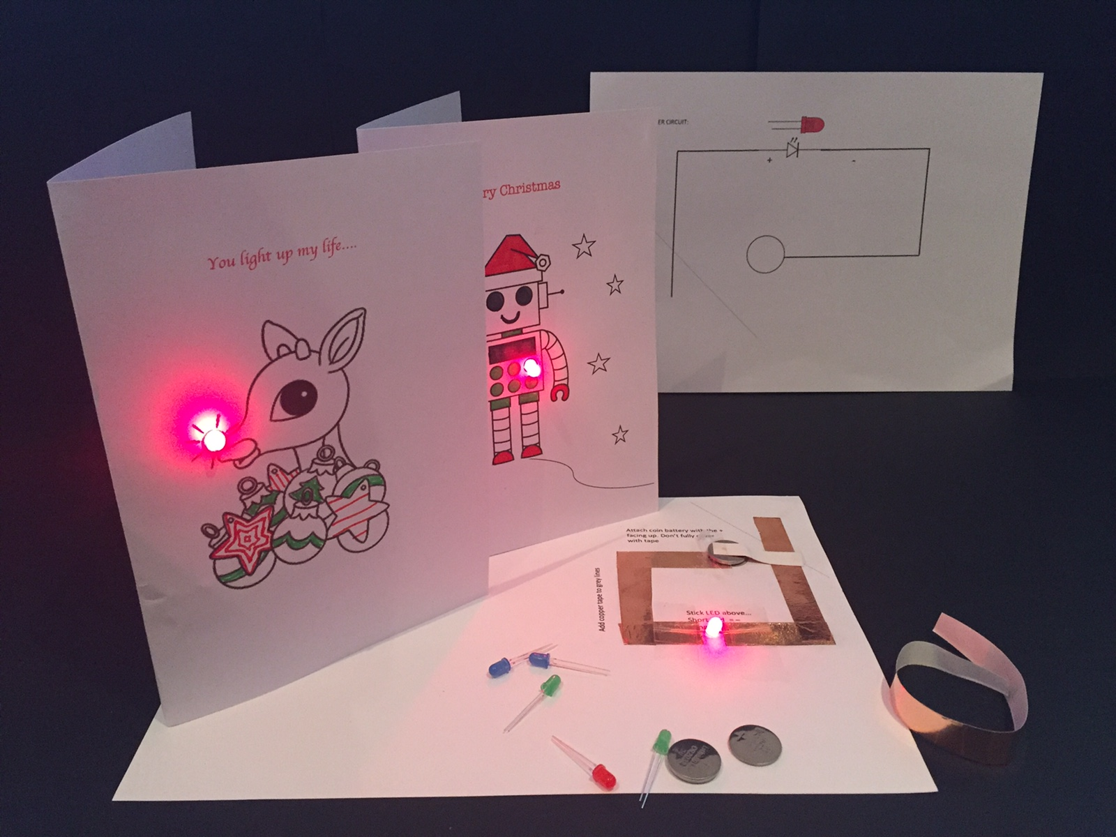 Electronic Christmas Cards 1
